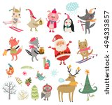 Vector Set Of Cute Characters....