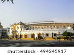 view of the plaza de toros de... | Shutterstock . vector #494345917