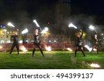kalipeda  lithuania   23... | Shutterstock . vector #494399137