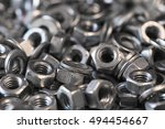 Small photo of hex metal nut