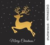 Christmas Reindeer. Xmas...
