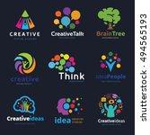 creative logo set. | Shutterstock .eps vector #494565193
