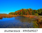 Fall Colors Around Water