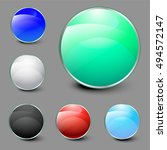 color circles | Shutterstock .eps vector #494572147