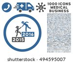 2016 business training icon... | Shutterstock .eps vector #494595007