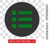 items round icon. vector eps...