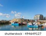 West Bay  Dorset  Uk September...