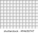 empty white shelves  | Shutterstock .eps vector #494650747