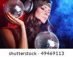 disco girl   Shutterstock . vector #49469113