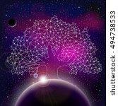 Universe With Stars  Nebula ...