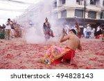krabi thailand october4... | Shutterstock . vector #494828143