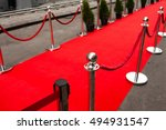 red carpet    is traditionally... | Shutterstock . vector #494931547