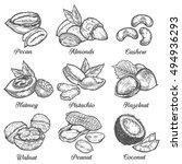Hazelnut  Almond  Walnut ...