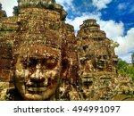 siem reap  cambodia   august... | Shutterstock . vector #494991097