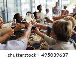 food catering cuisine culinary...   Shutterstock . vector #495039637