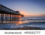 southwold pier at sunrise....