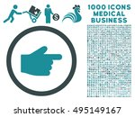 index finger icon with 1000...