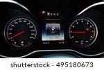 modern car speedometer. close...   Shutterstock . vector #495180673