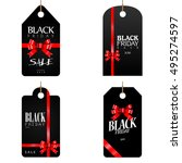 set of black friday labels ...   Shutterstock .eps vector #495274597
