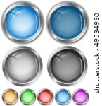 vector internet buttons | Shutterstock .eps vector #49534930