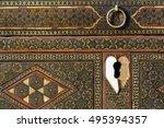 Old Khatam Box Surface Texture