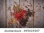 Red Black  White  Green Pepper...