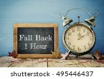 Image Of Autumn Time Change....