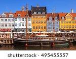 copenhagen  denmark   september ... | Shutterstock . vector #495455557