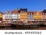 copenhagen  denmark   september ... | Shutterstock . vector #495455563