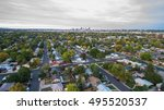 aerial view of residential...   Shutterstock . vector #495520537