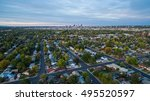 aerial view of residential... | Shutterstock . vector #495520597