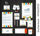vector templates for office... | Shutterstock .eps vector #495602923
