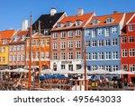 copenhagen  denmark   september ...   Shutterstock . vector #495643033
