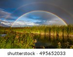 Amazing Double Rainbow Over Th...
