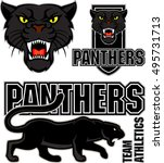 Vector Angry Black Panther Fac...