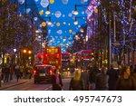 london  uk   december 30  2015  ...   Shutterstock . vector #495747673