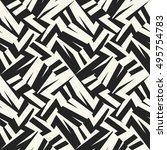 abstract elements broken... | Shutterstock .eps vector #495754783