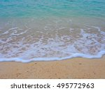 sea of miyako jima okinawa | Shutterstock . vector #495772963