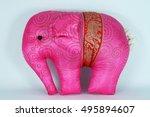 plush elephant | Shutterstock . vector #495894607
