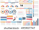 infographic elements timeline ... | Shutterstock .eps vector #495907747