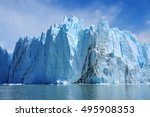 Giant Wall Of Perito Moreno...