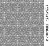 abstract geometric pattern with ... | Shutterstock . vector #495914173
