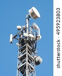 Communication Cell Tower For...