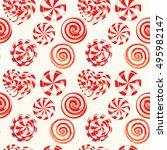 seamless pattern background... | Shutterstock .eps vector #495982147