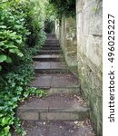 Small photo of Stairway leading to Alexandra Park in Bath, UK