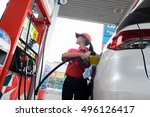 bangkok. thailand. september 28 ... | Shutterstock . vector #496126417