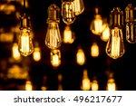 lighting decoration | Shutterstock . vector #496217677
