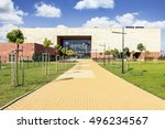 krakow  poland   october 10 ... | Shutterstock . vector #496234567