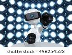 the original 3d character...   Shutterstock . vector #496254523