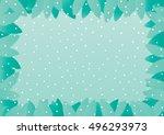 christmas . vector christmas  ... | Shutterstock .eps vector #496293973